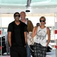 Beyoncé et Jay-Z s'aiment depuis 2002 et se sont dit oui le 4 avril 2008 à New York. Aujourd'hui, le couple star attend son premier enfant. (Paris, 26 avril 2011)