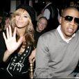 Beyoncé et Jay-Z s'aiment depuis 2002 et se sont dit oui le 4 avril 2008  à New York. Aujourd'hui, le couple star attend son premier enfant. (Paris, 5 octobre 2005)