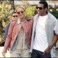 Beyoncé et Jay-Z s'aiment depuis 2002 et se sont dit oui le 4 avril 2008  à New York. Aujourd'hui, le couple star attend son premier enfant.  (Paris, 25 avril 2011)