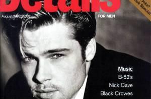 Flashback : les débuts de Brad Pitt, ses premières couvertures