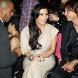 Kim Kardashian et son mari Kris Humphries arrivent au Southtern Hospitality, à New York le 31 août 2011