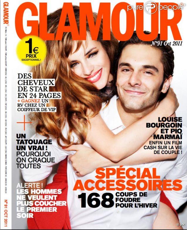 Couverture de Glamour - Octobre 2011