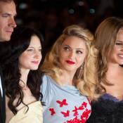 Venise 2011 : Madonna, fière et resplendissante pour défendre sa romance glamour