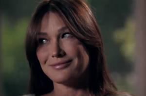 Carla Bruni-Sarkozy: 'J'espère que mon mari sera là le jour de l'accouchement !'