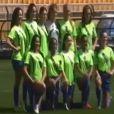 Avant l'élection Miss Univers 2011 le 12 septembre à Sao Paulo, les concurrentes ont entamé la compétition avec lors d'un match de football avec Cafu, le célèbre joueur brésilien.