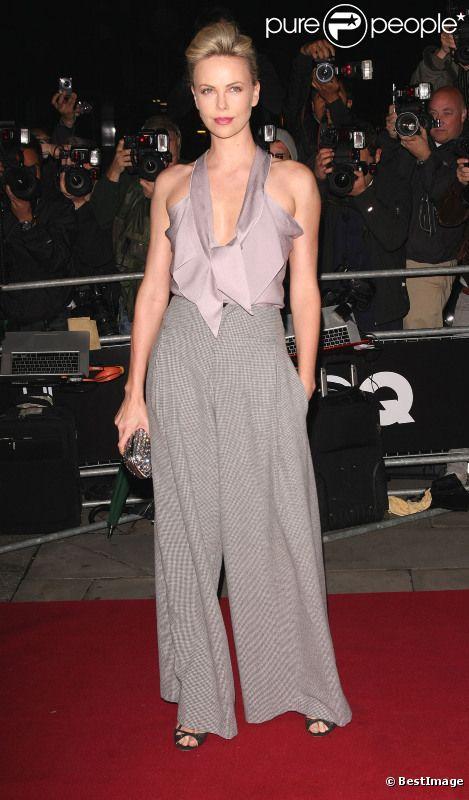 Charlize Theron lors de la soirée des GQ Awards à Londres le 6 septembre 2011