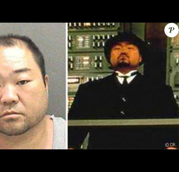 Mugshot de l'acteur Joseph Hyungmin Son d'Austin Powers condamné à la prison à vie
