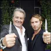Alain Delon, couteau à la main avec Ora-Ïto, revisite la légende du samouraï