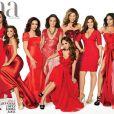 Voici la couverture entière du magazine Latina pour son numéro anniversaire.