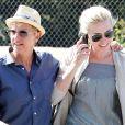 Portia De Rossi et Ellen DeGeneres à Beverly Hills, le 9 septembre 2011.
