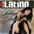 Cheveux noirs et regard de braise, Salma Hayek séduisait les lecteurs du magazine Urban Latino en octobre 2002.