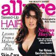 L'actrice Salma Hayek se confie sur son corps et sa vie pour le magazine Allure. Septembre 2011.