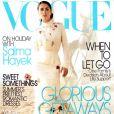 Juin 2005 : Salma Hayek décroche la couverture du Vogue américain, une vraie consécration.