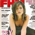 Jennifer Aniston se fait sexy pour une de ses toutes premières couvertures de magazine. FHM, septembre 1996.
