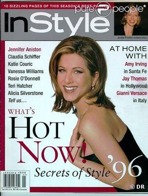 Janvier 1996 : Jennifer Aniston est en couverture du magazine InStyle.