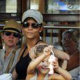 Halle Berry et Nahla découvrent Majorque le 12 septembre 2011