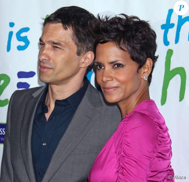 Halle Berry et Olivier Martinez en avril 2011