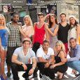 Les anges réunis au grand complet, dans les Anges de la télé-réalité 3 à New York !