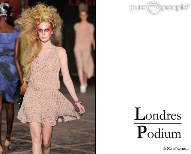 Défilé Vivienne Westwood Printemps-Eté 2012.