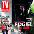 Marc-Olivier Fogiel en couverture de  TV Magazine , en kiosques le 16 septembre 2011 .