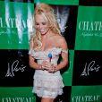 Pamela Anderson à Las Vegas, le 30 juillet 2011.