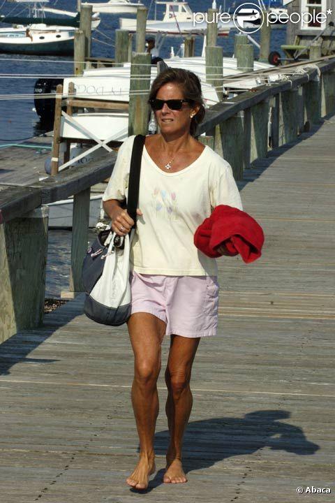 Kara Kennedy à Hyannis Port en août 2008