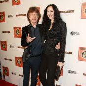 Mick Jagger et L'Wren Scott : Solides et stylés pour la sortie de SuperHeavy