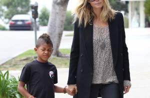 Look de la semaine : les fashionistas Heidi Klum et Kate Moss s'affrontent