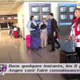 Emilie à l'aéroport dans les Anges de la télé réalité 3, lundi 26 septembre sur NRJ 12