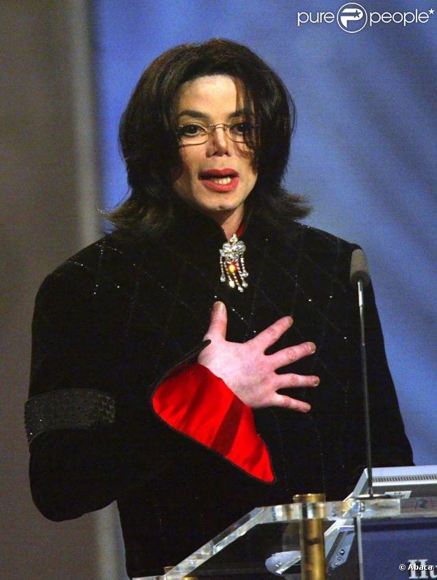 Michael Jackson en 2002
