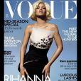 Rihanna en couverture de Vogue UK