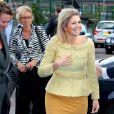 La princesse Maxima des Pays-Bas connaît un début de mois d'octobre chargé. Elle était présente au 10e gala annuel MBO récompensant les étudiants les plus brillants.