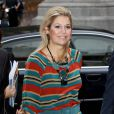 La princesse Maxima des Pays-Bas connaît un début de mois d'octobre chargé. Tenue très casual le mercredi 5 octobre pour inaugurer les nouveaux locaux de l'Institut des Ressources énergétiques.