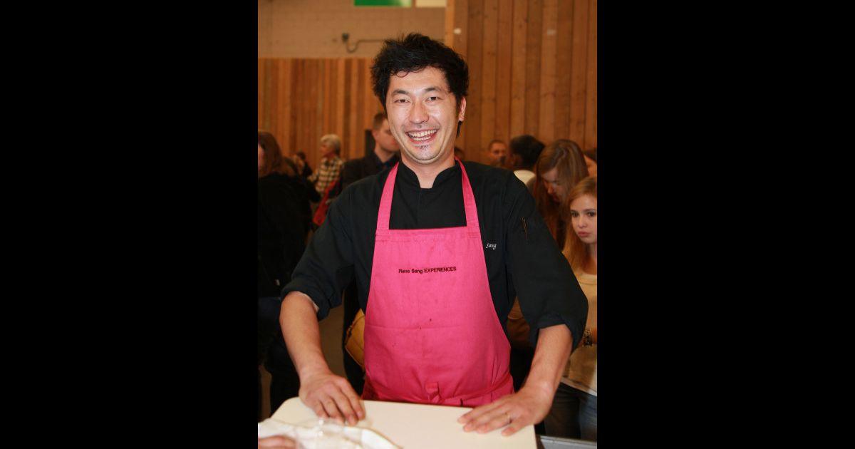 Pierre sang lors du salon cuisinez avec m6 paris le 7 for Salon du divorce
