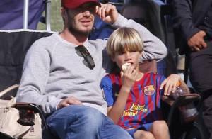 David Beckham : Père attentionné et supporter enflammé pour ses enfants