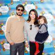 Ali Landry en compagnie de son mari Alejandro Monteverde et leur petite fille Estela en mars 2010 à Los Angeles