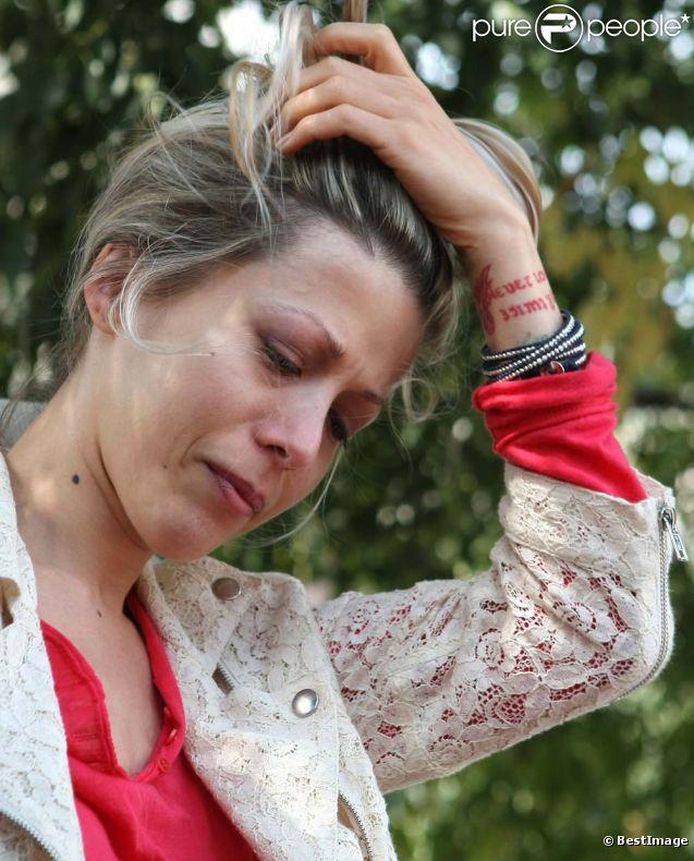 Tristane Banon, à Paris, le 24 septembre 2011.