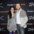 Rebecca Azan et Arthur Benzaquen lors de l'avant-première de la série ZAK à Paris le 12 octobre 2011