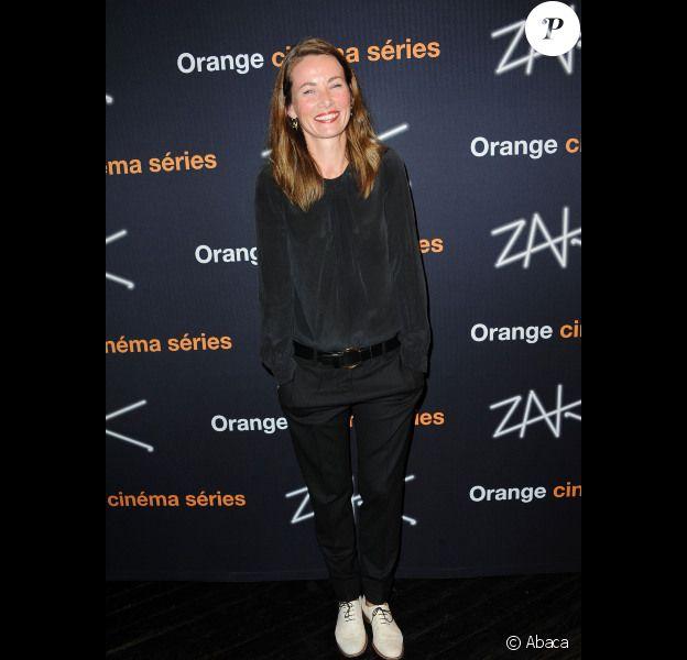 Céline Balitran lors de l'avant-première de la série ZAK à Paris le 12 octobre 2011