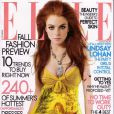 Lindsay Lohan joue la modeuse rebelle pour le magazine Elle. Juillet 2005.
