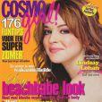 La jeune Lindsay Lohan, idole de toute une jeunesse, pose en couverture du Cosmo Girl néerlandais. Juillet 2004.
