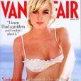 Lindsay Lohan, en bikini brodé pour le Vanity Fair de février 2006.