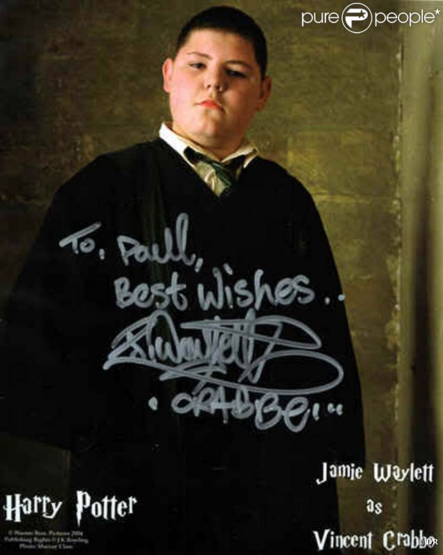 Jamie Waylett dans sa période Harry Potter.