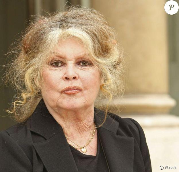 Brigitte Bardot à Paris, en septembre 2006.