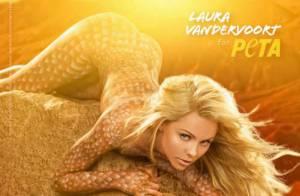 Laura Vandervoort, star de Smallville, pose nue et se mue en lézard sexy