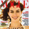Juin 2008 : Anne Hathaway décroche la Une du Vogue des grand(e)s.