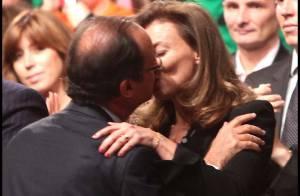 François Hollande et Valérie Trierweiler : Un bon gros baiser... devant Ségolène