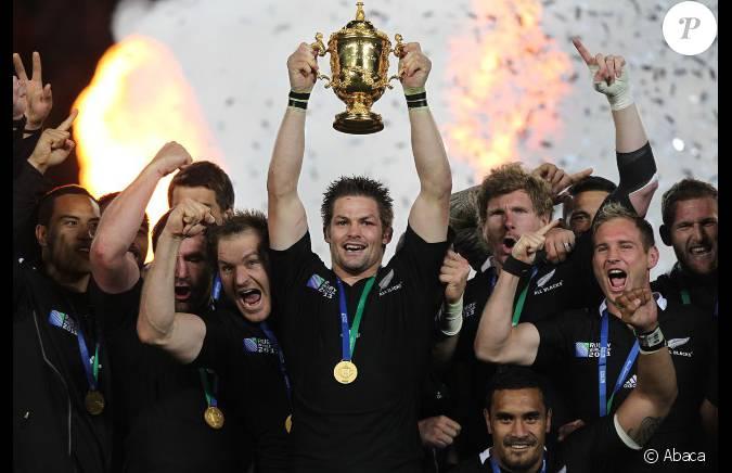 La finale de la coupe du monde de rugby disput e en la france et la nouvelle z lande 7 8 le - Audience finale coupe du monde ...