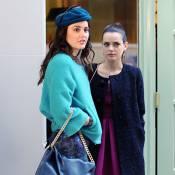 Gossip Girl : La Frenchy Roxane Mesquida ravissante auprès de Serena et Blair