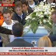 Les funérailles de Marco Simoncelli le 27 octobre 2011 à Coriano en Italie
